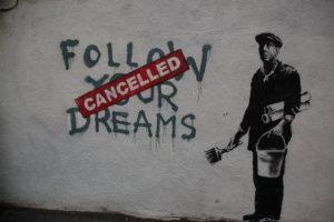 Banksy dentro/fuori